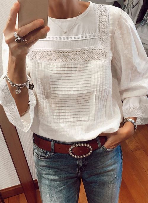 Solid Spring Blouses